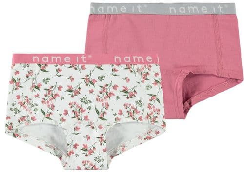 Girl's 2PK Hipster Briefs Floral